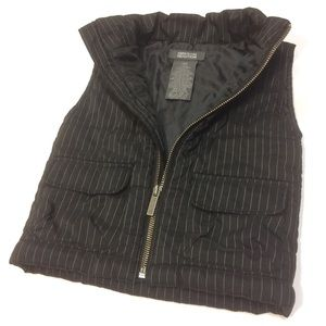 Kenneth Cole Puffer Vest with Zipper